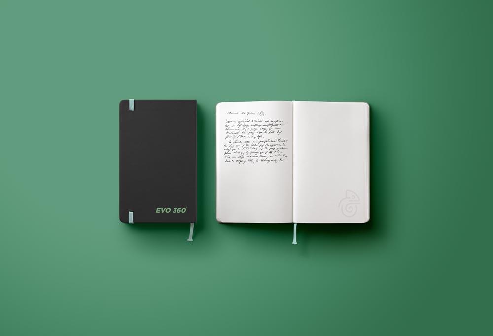 diseño de libreta de notas