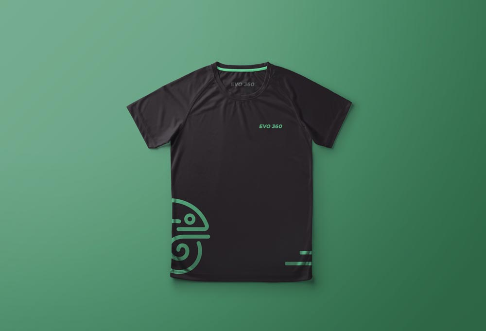 diseño de playera gym