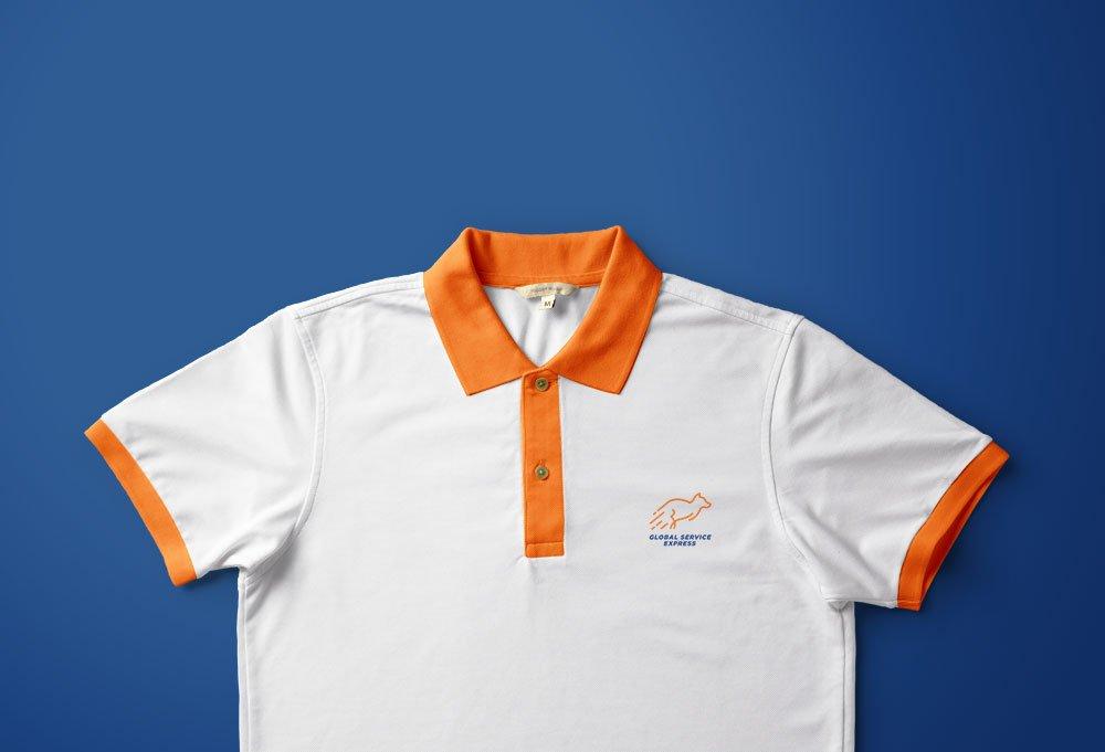 diseño de camiseta global service