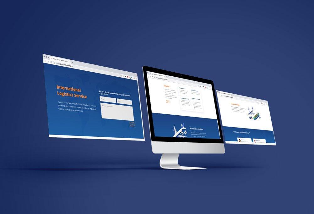 diseño web paqueteria