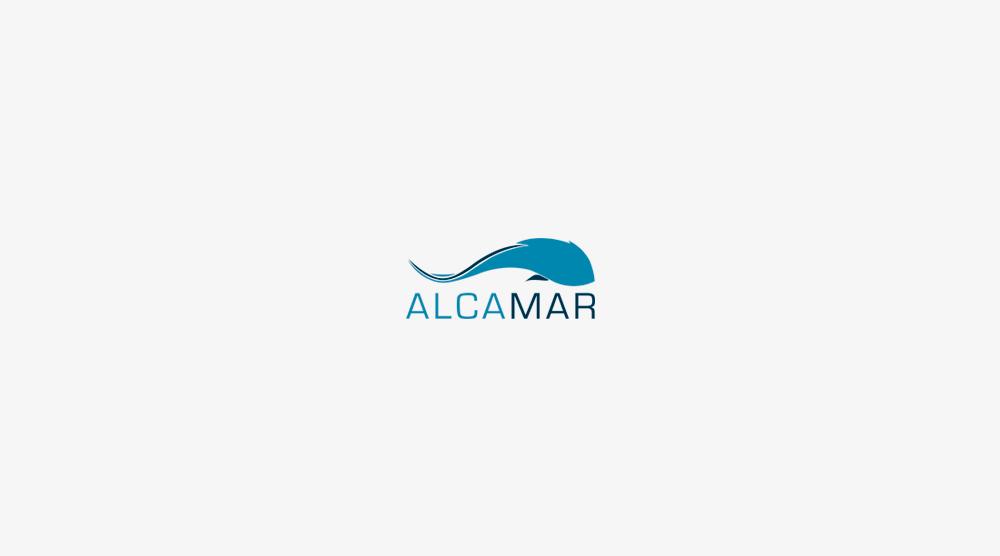 logotipo alcamar