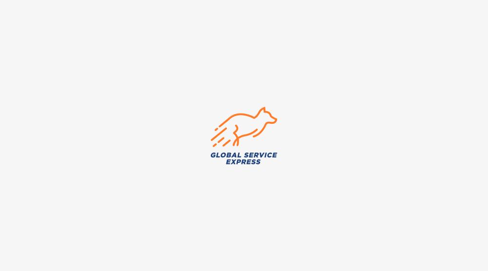 logotipo global service express