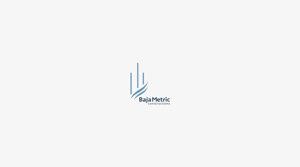 logotipo baja metric
