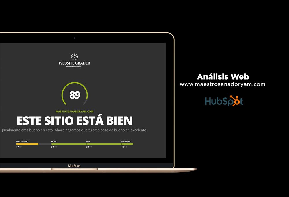 analisis web hubspot