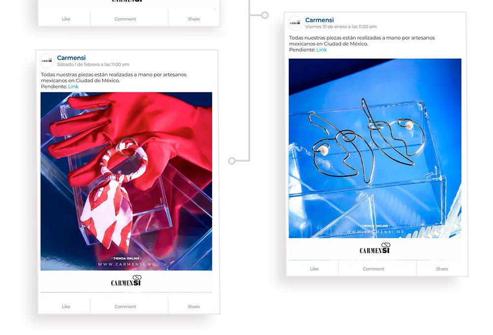diseño web para joyería