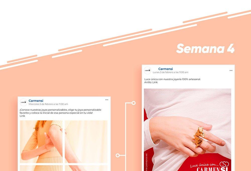 redes sociales de joyería