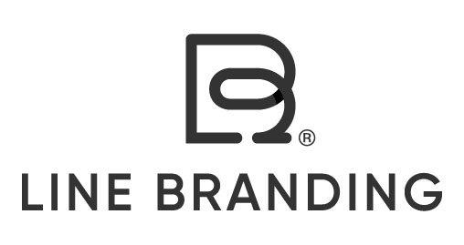 logotipo line branding