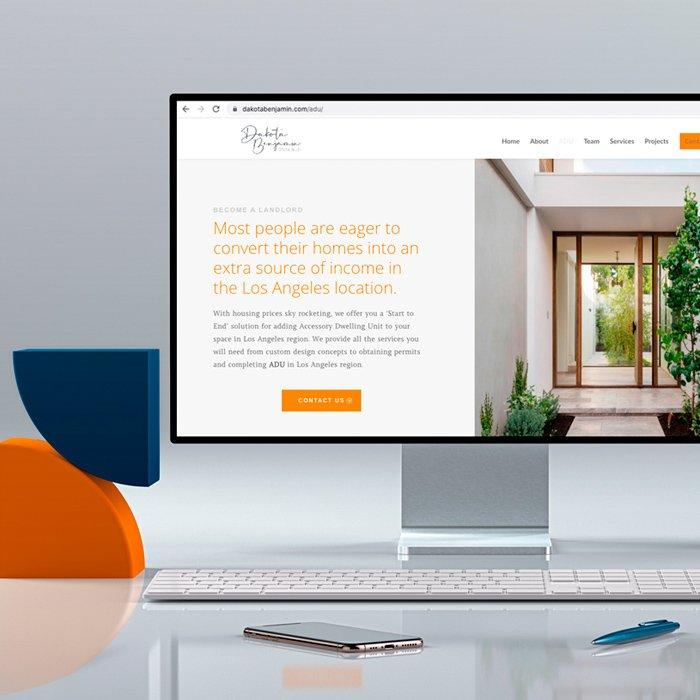 branding web para constructora