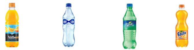 Ejemplo de branding de productos y de marcas independientes