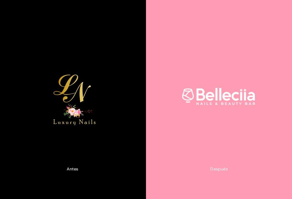 rediseño de marca belleciia