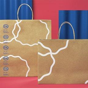 paquetes por la agencia de branding Anagrama
