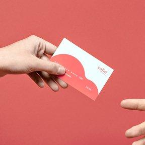 tarjeta de visita por the branding people