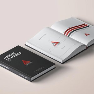manual de marca por la agencia Line Brnading