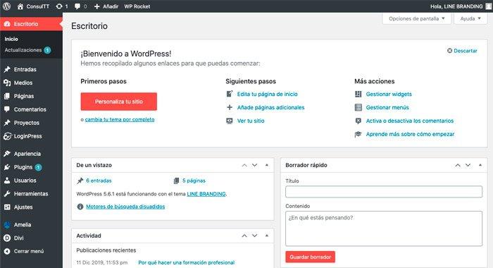 cómo publicar un artículo en wordpress
