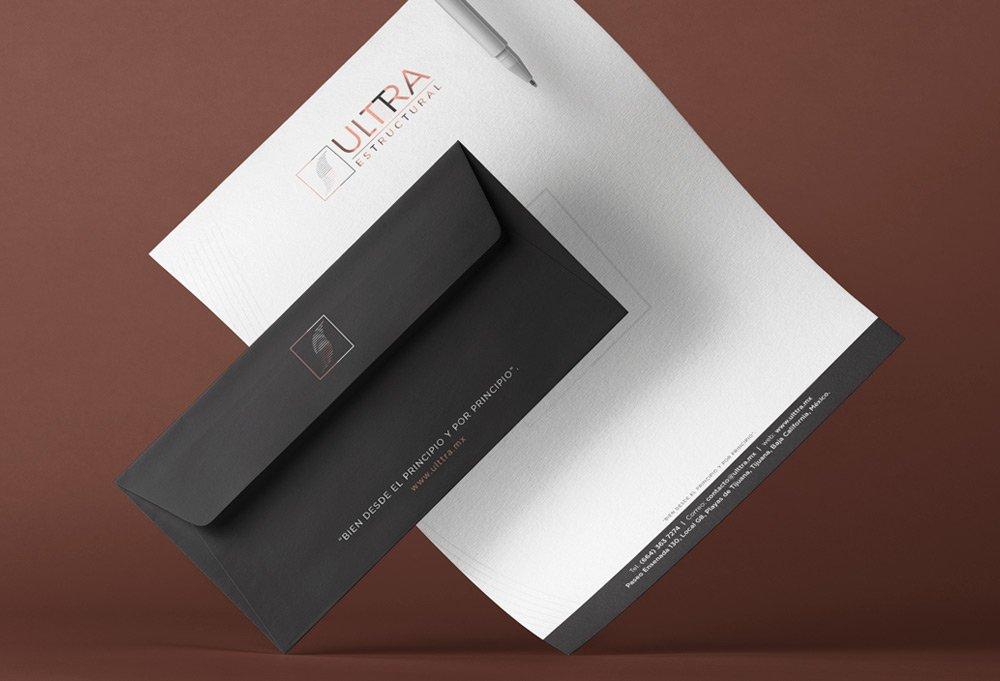 diseño de papelería ulttra