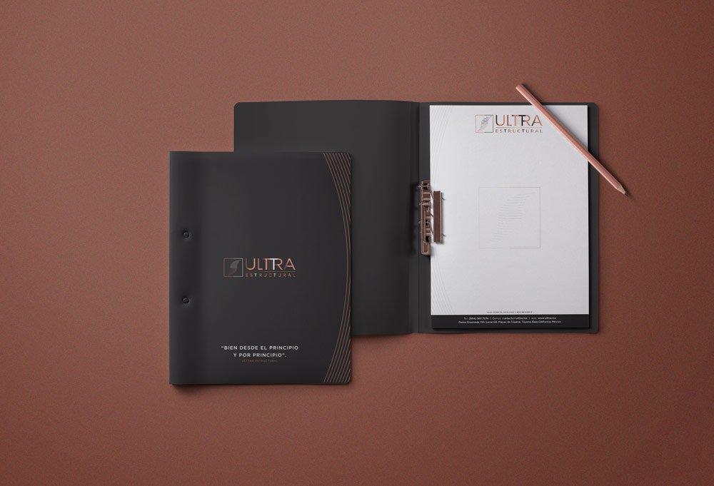 diseño folder ulttra