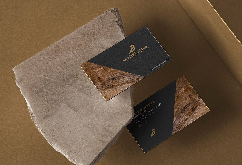 branding de carpintería maderativa